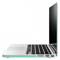 Artwizz Rubber Clip Transluzenter Rundumschutz für Macbook Pro with Retina display 15, mint – Bild 2