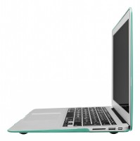 "Artwizz Rubber Clip Transluzenter Rundumschutz für MacBook Air 13"" mint – Bild 2"