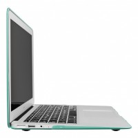 "Artwizz Rubber Clip Transluzenter Rundumschutz für MacBook Air 13"" mint – Bild 3"
