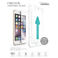 nevox Glas Display Schutz Screen-Front-Sicherheits-Glas iPhone 7 + 6S + 6 + Plus