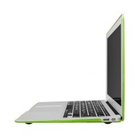 Artwizz Rubber Clip Schutzhülle Case Cover Tasche Feather MacBook Air 11, green B-Ware – Bild 4