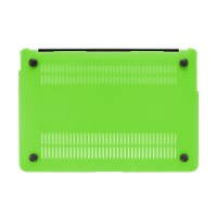 Artwizz Rubber Clip Schutzhülle Case Cover Tasche Feather MacBook Air 11, green B-Ware – Bild 6