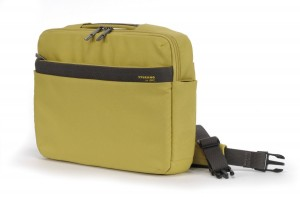 "Tucano Ultra Slimcase Nylon Notebooktasche Schultertasche Macbook Air 11"" yellow – Bild 1"