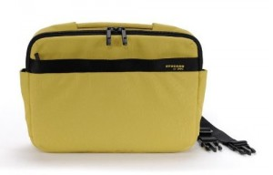 "Tucano Ultra Slimcase Nylon Notebooktasche Schultertasche Macbook Air 11"" yellow – Bild 3"
