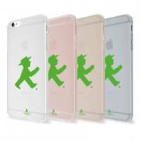 Artwizz Rubber Clip (Ampelmann Edition) - Schutzclip für iPhone 6 / iPhone 6s translucent – Bild 1
