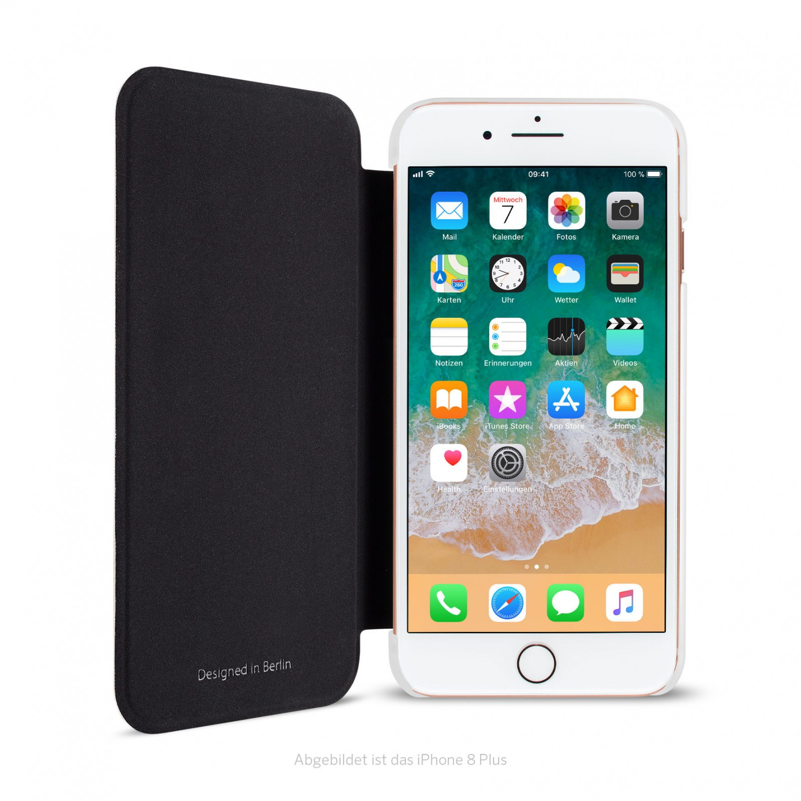 Artwizz SmartJacket Protective Clip With Front Cover For IPhone 7 Plus