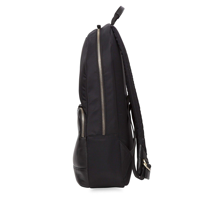 knomo mount damen leder rucksack laptop fach notebook. Black Bedroom Furniture Sets. Home Design Ideas