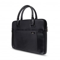 Artwizz Leather Bag - Ledertasche für MacBook, schwarz (MacBook Pro 15) – Bild 5