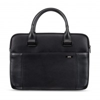 Artwizz Leather Bag - Ledertasche für MacBook, schwarz (MacBook Pro 15) – Bild 6