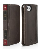 Twelve South BookBook for iPhone 5/5s und iPhone SE, vintage brown