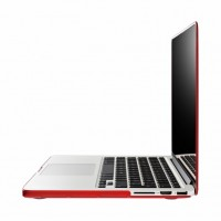 "Artwizz Rubber Clip für MacBook Pro 13"" , red B-Ware – Bild 6"