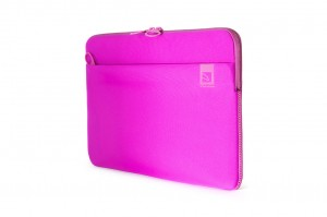 Tucano Top, Second Skin Neopren-Hülle für MacBook Pro 13 2016, fuchsia – Bild 2