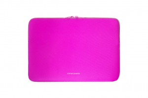 Tucano Top, Second Skin Neopren-Hülle für MacBook Pro 13 2016, fuchsia – Bild 4