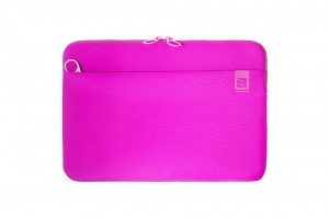 Tucano Top, Second Skin Neopren-Hülle für MacBook Pro 13 2016, fuchsia – Bild 1