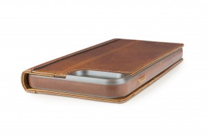 Twelve South Journal Lederfolio mit Kartenfächer for iPhone 7, cognac – Bild 3