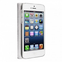 Artwizz SeeJacket Leather Feinstes Lederetui für iPhone 5 5s SE Weiss B-Ware – Bild 2