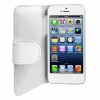 Artwizz SeeJacket Leather Feinstes Lederetui für iPhone 5 5s SE Weiss B-Ware – Bild 4
