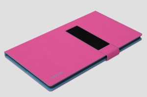 reboon booncover L2 Tablet Tasche u.a. Samsung Tab 2 10.1, Sony Z4 Tablet, pink