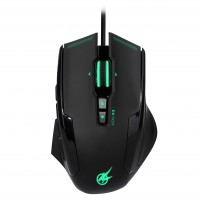 PORT DESIGNS GAMING MOUSE AROKH X-3 - 12 BUTTONS 8200 DPI - GN – Bild 5