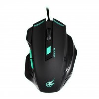PORT DESIGNS GAMING MOUSE AROKH X-1 - 6 BUTTONS 2400 DPI - GN