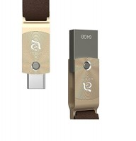 Adam Elements ROMA USB-C / USB 3.1 – 64GB, Gold – Bild 3