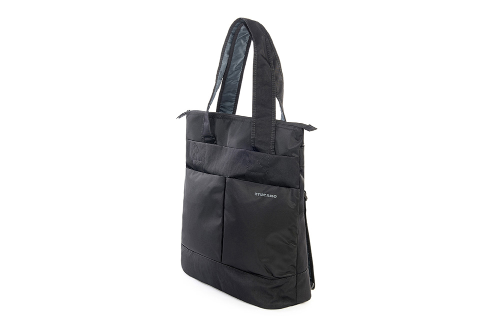 tucano piu nylon damen rucksack 2 in 1 shopper. Black Bedroom Furniture Sets. Home Design Ideas