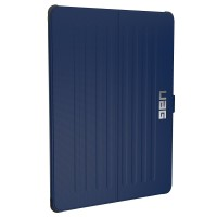 Urban Armor Gear Metropolis Case (2. Gen ) for iPad Pro 12.9 -Cobalt/Silver Logo/Black – Bild 2