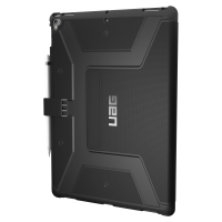 Urban Armor Gear Metropolis Case (2. Gen) for iPad Pro 12.9, Black /Silver Logo/Black – Bild 1