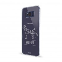 Artwizz NoCase Design Schutzhülle für Galaxy S8 - Ultra-dünne Hülle aus elastischem TPU - limitierte Designedition mit stylischen Polygon-Motiv - Galaxy S8 Case designed in Berlin - P-Dog - 5918-2156 – Bild 1