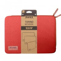 PORT DESIGNS TORINO SLEEVE Tasche Cover Case Laptop Notebook Tablet 14 Zoll RED