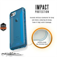 Urban Armor Gear Plyo Schutzhülle Case Cover Apple iPhone 8 / 7 / 6s / 6 blau – Bild 8