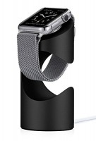 Just Mobile TimeStand Lade Docking Station Apple Watch schwarz Aluminium – Bild 1